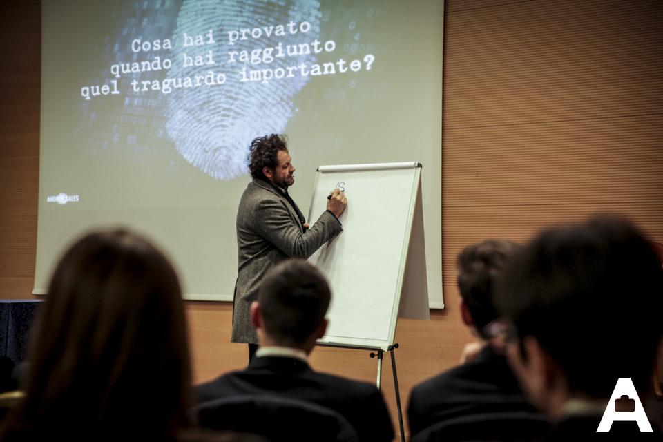 Andrea Sales relatore per Agenti treviso a Improntagenti