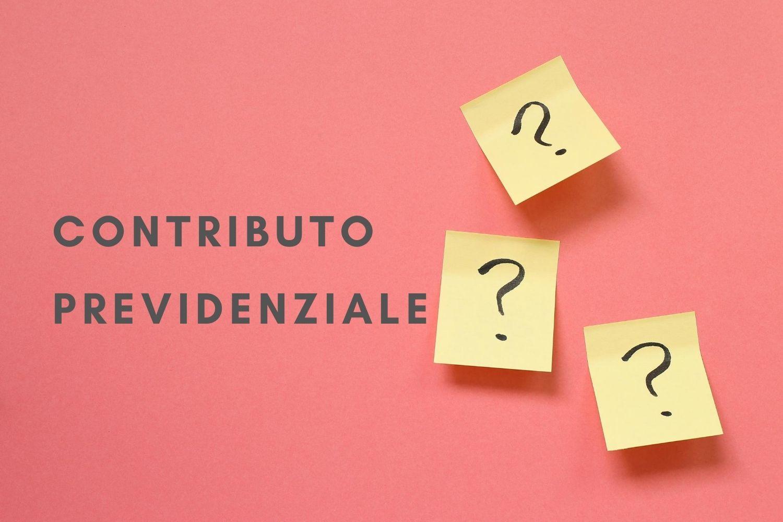 contributo previdenziale Enasarco