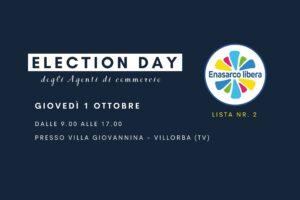 Election Day agenti di commercio